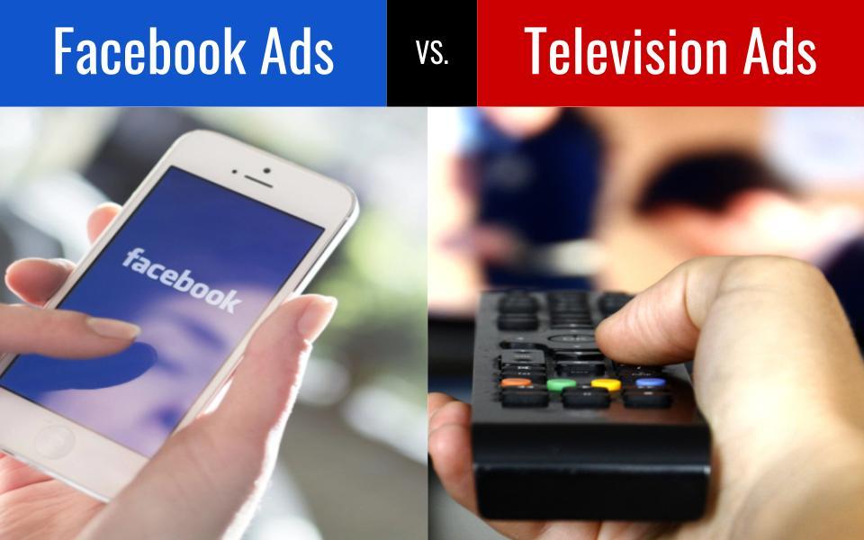 facebook vs tv ads