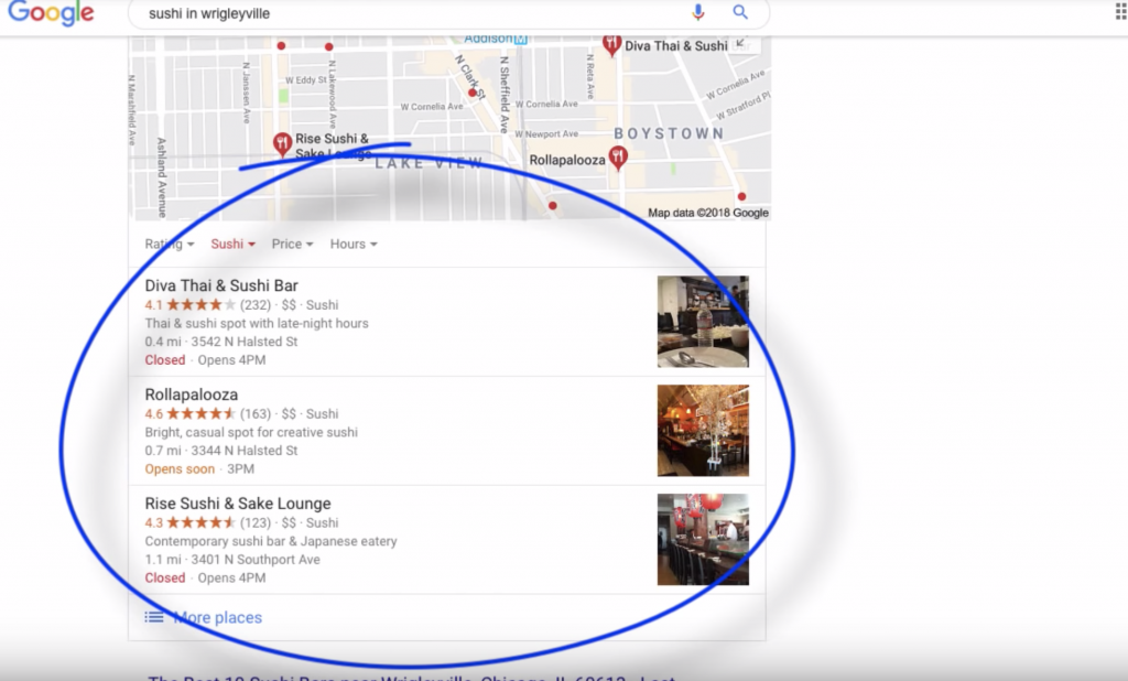 Google Map Pack - Local SEO Optimization for Google My Businesses - Truvi Online Marketing Solutions in Los Angeles